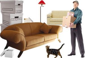 грузчик с мебелью