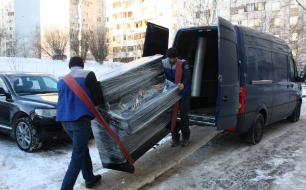перевозка пианино зимой