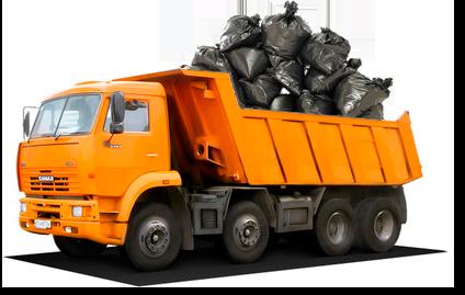 заказ вывоза мусора с дачи