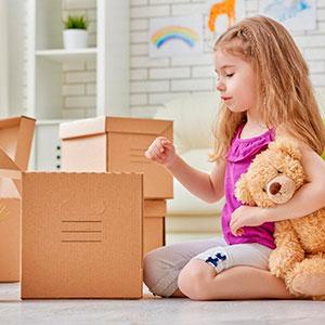 подготовить ребенка к переезду фото