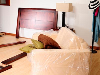 упаковать мебель для переезда фото
