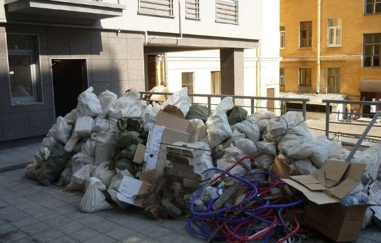 Куда выбрасывать строительный мусор фото